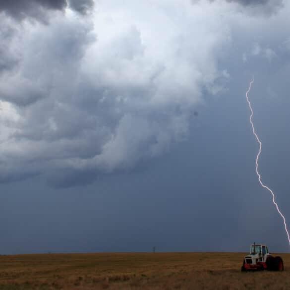Lightning in Southwest Oklahoma