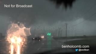Video still of the Norman, Oklahoma tornado on May 6, 2015