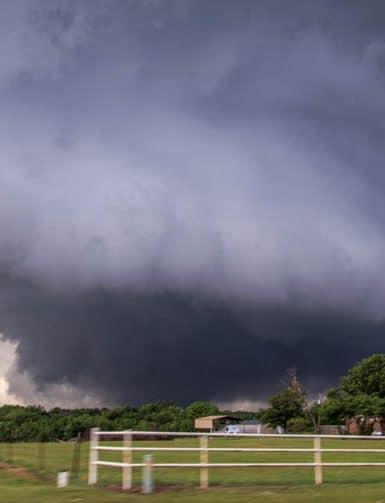 Wedge Tornado North of Sulphur, OK on May 9, 2016