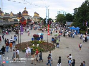 Working at Cedar Point