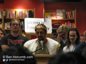 Maddox Booksigning in Ann Arbor, MI