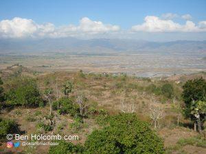 View from the Bima, Indonesia Radar Site