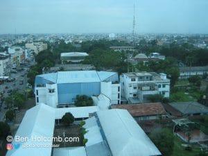 Medan from my hotel room