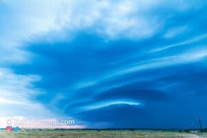 A very photogenic May storm near Jacksboro, TX on May 6, 2012