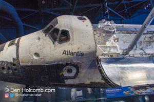 Space Shuttle Atlantis Cargo Bay