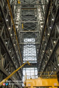 Inside the VAB (Vehicle Assembly Building)