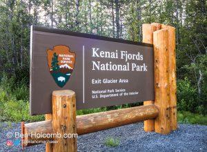 Kenai Fjords National Park Exit Glacier Area
