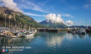 The Boat Docks in Seward, Alaska