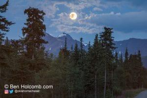Blue Moon in Alaska