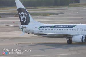 N453AS Russel Wilson Plane
