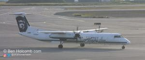 "N449QX in Anchorage Alaska Airlines ""Horizon"" Dash 8"