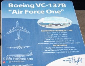 Air Force One Boeing VC-137B