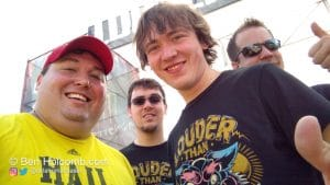 Me, Alec, Aaron and Adam at Louder than Life