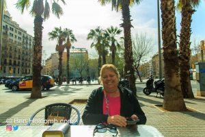 My mom and I enjoyed a delicious lunch at Bar Estudiantil
