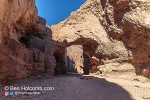 Natural Bridge in Death Valley National Park