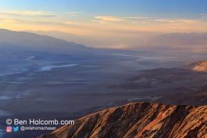 Overlooking Death Valley
