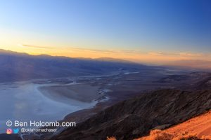 Dante's View Overlooking Death Valley National Park