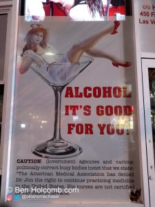 Alcohol It's Good For You Outside of The Heart Attack Grill
