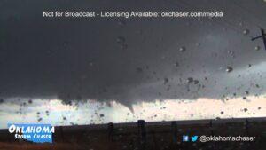 Tornado south of Claude, TX