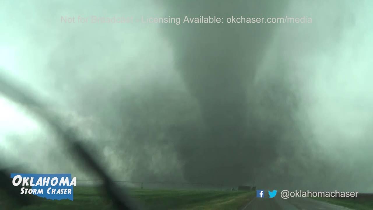 Dashcam Footage of Dodge City tornado