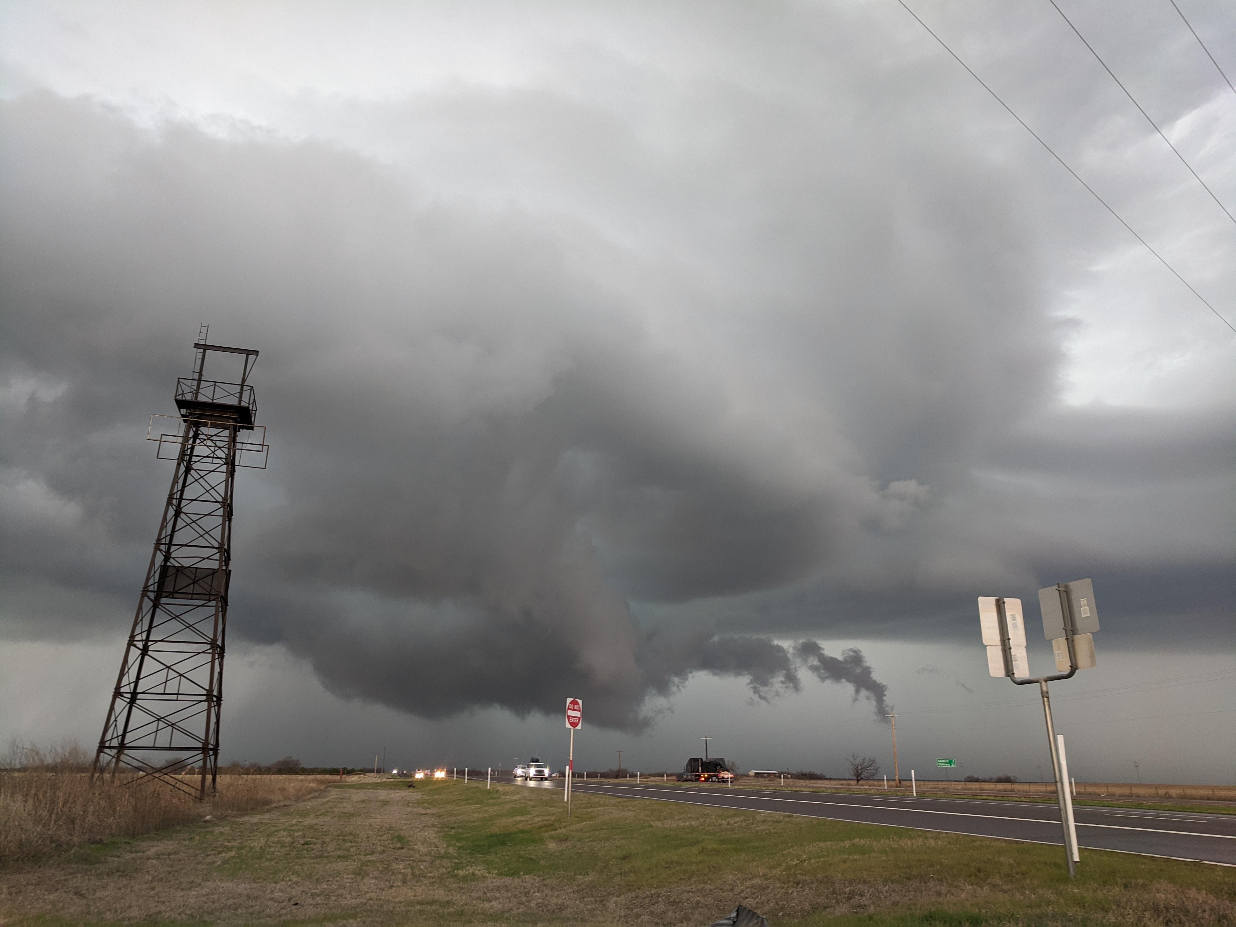 Pretty Storm near Quanah, Texas