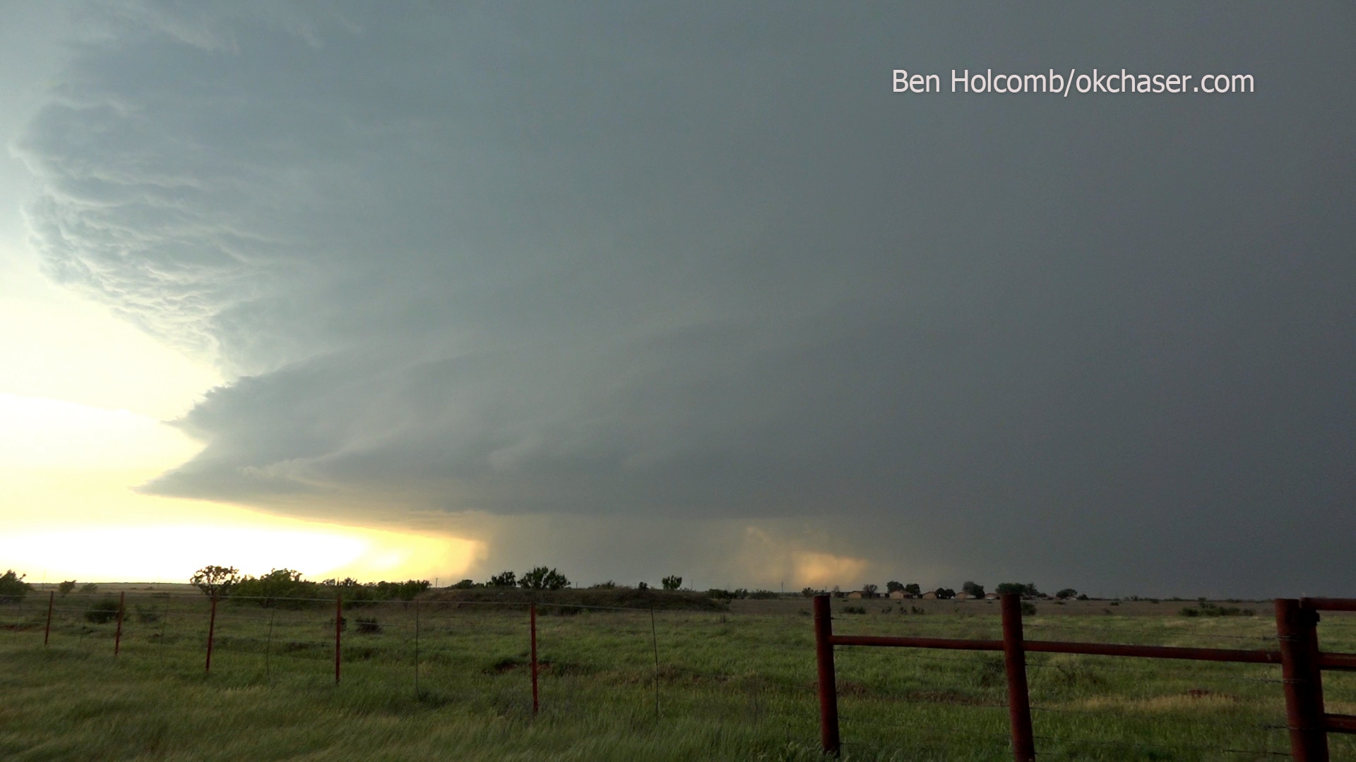 Gorgeous Supercell Structure in Western North Texas May 7, 2020