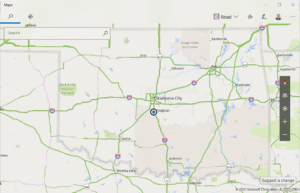 Microsoft Maps comes with Windows 10
