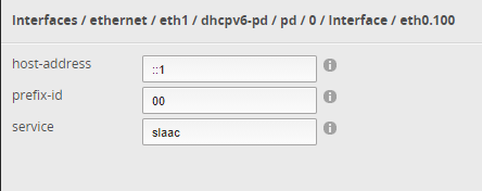 dhcpv6-pd interface configuration for EdgeRouter X on Cox Residential Internet service