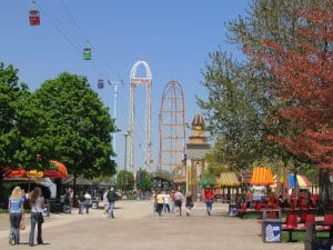 Cedar Point Skyride Top Thrill Dragster Power Tower