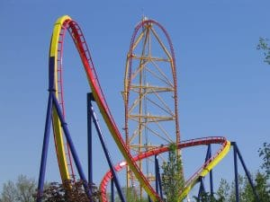 Mantis and Top Thrill Dragster