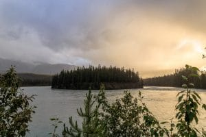 Athabasca River Bend