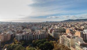 Barcelona from Sagrada Familia