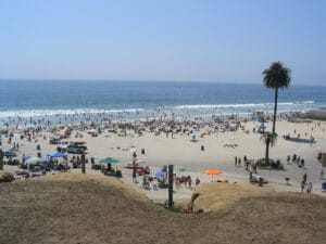 Beach in Encinitas