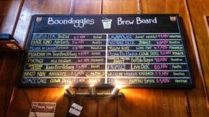 Boondoggles Brew Board