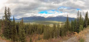 Bow River Valley near Lake Louise