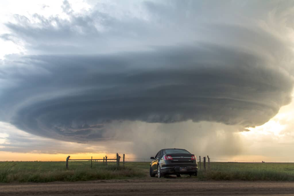 Ford Taurus Faces Storm