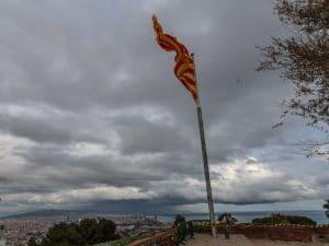 Storm over Barcelona