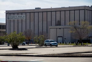 Chrispher C Kraft Jr Mission Control Center Building
