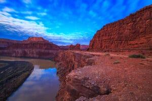 Colorado River and Potash Road