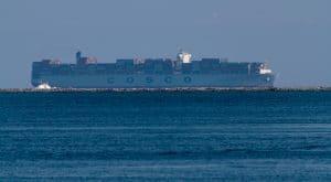 Cosco container ship