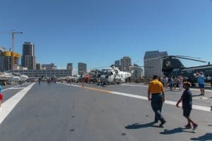 Deck of the USS Midway
