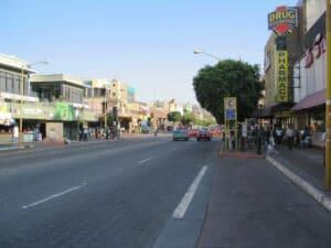 Downtown Tijuana