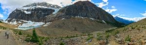 From Edith Cavell Trail