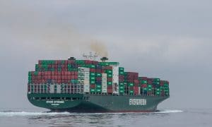 Evergreen Ever Strong container ship