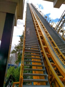 First Hill of Skyrush