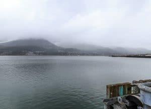 Gastineau Channel from Juneau
