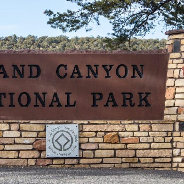 Grand Canyon National Park at the Grand Canyon South Rim.