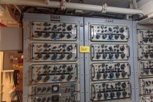 Radios on board USS Midway