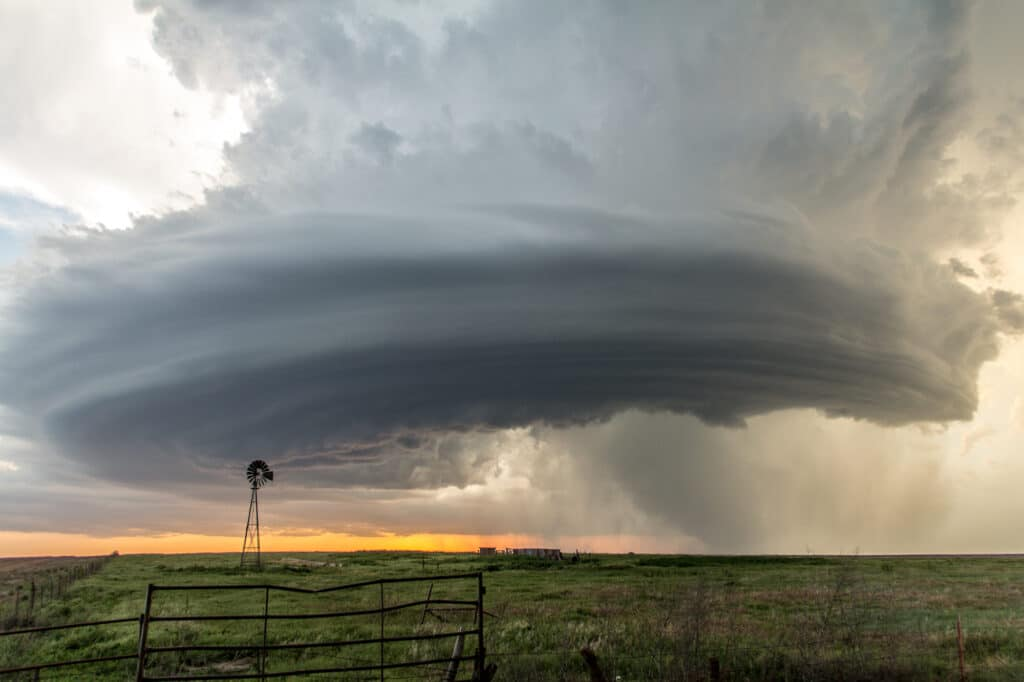 Hodgeman County Supercell