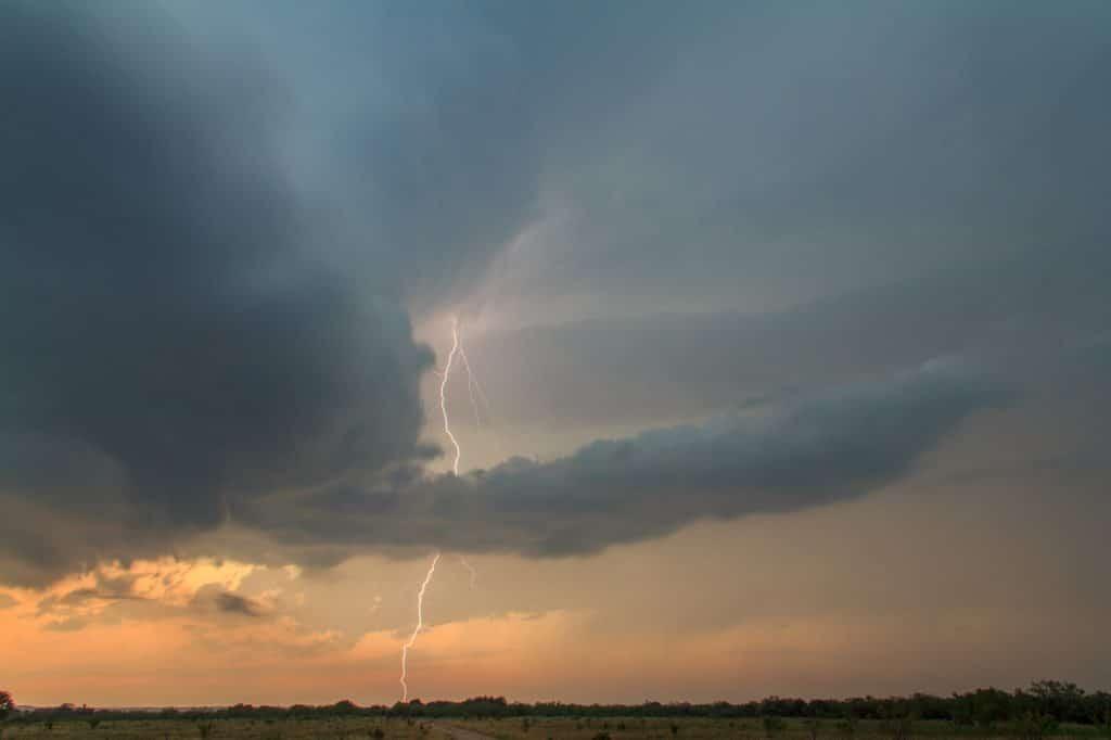 Graham TX Lightning